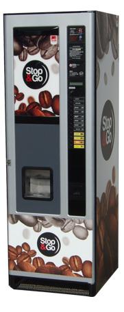 Automat z kawą, automat z napojami gorącymi