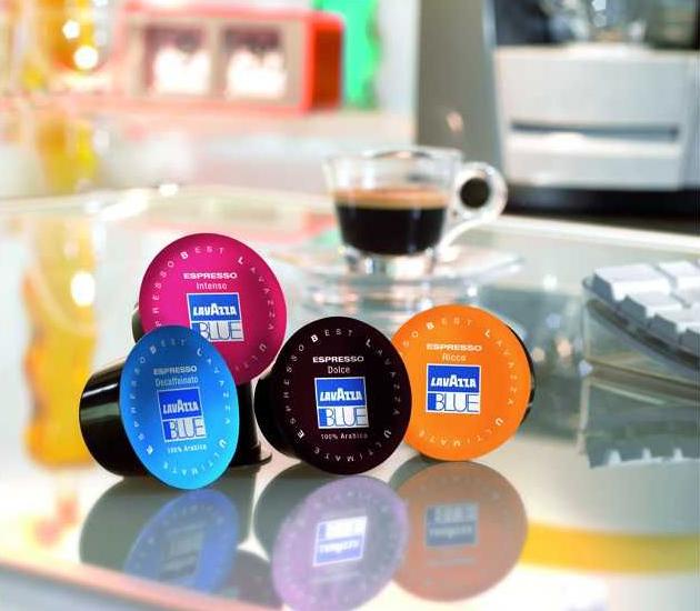 Kapsuły z kawą Lavazza Blue, automaty Lavazza Blue z kapsułami