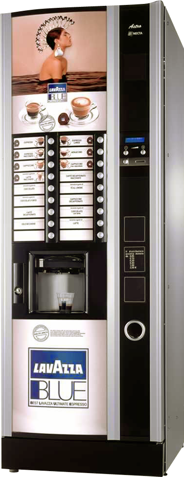 Lavazza Blue – ekspres vendingowy, kawa Lavazza w kapsułach