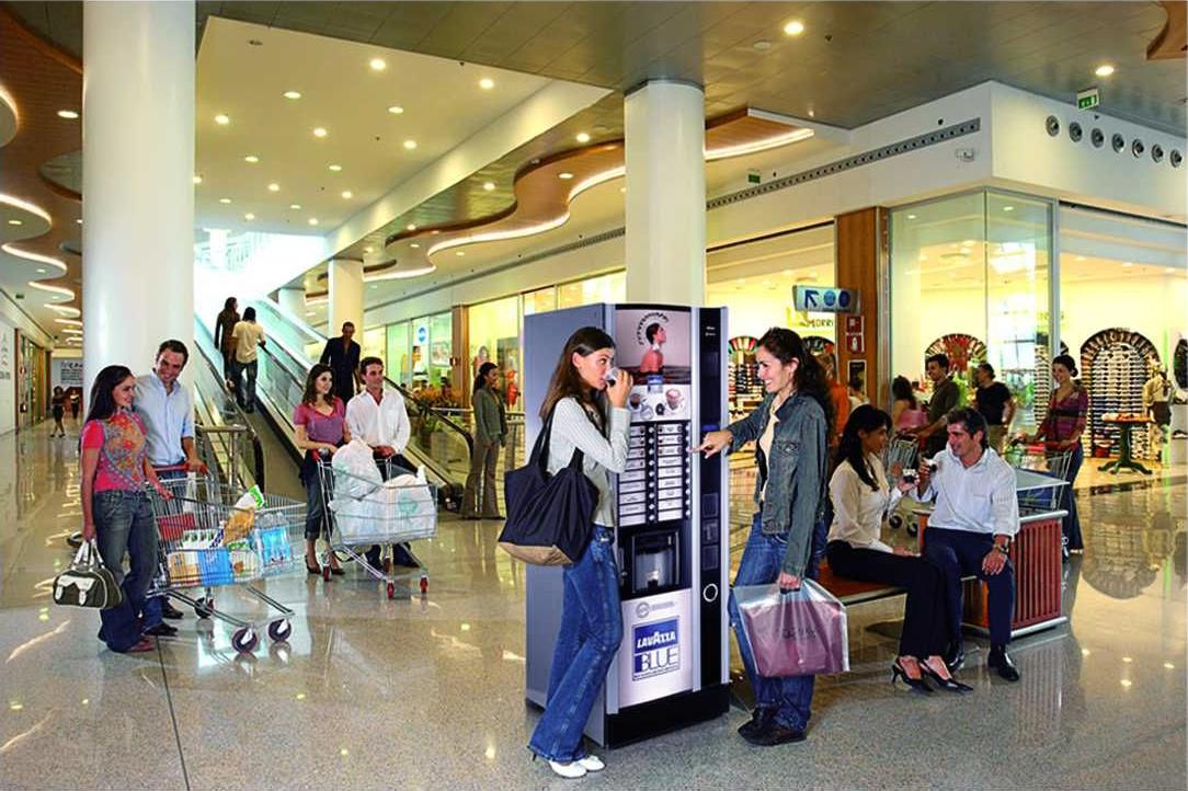 Automat z kawą Lavazza Blue, automaty sprzedające Wrocław