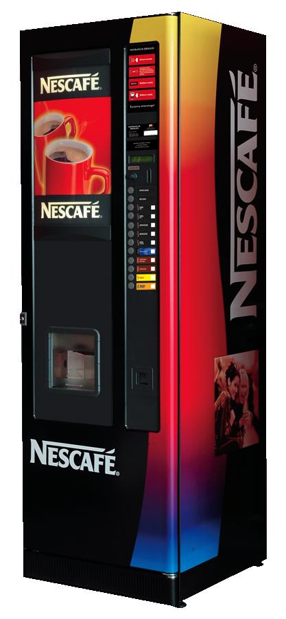 Automat Nescafe do gorących napojów model Aurora