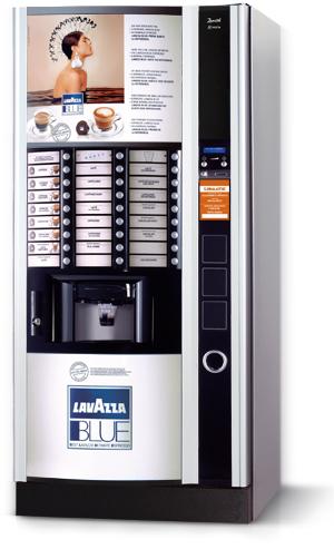 automat Lavazza Blue, automat z kawą Lavazza, ekspres Lavazza